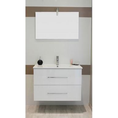 Meuble Salle De Bain Sous Vasque Tanath 80 Couleur Blanc Classique