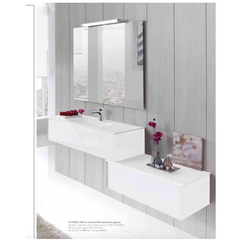 meuble suspendre ottobel robinet co. Black Bedroom Furniture Sets. Home Design Ideas