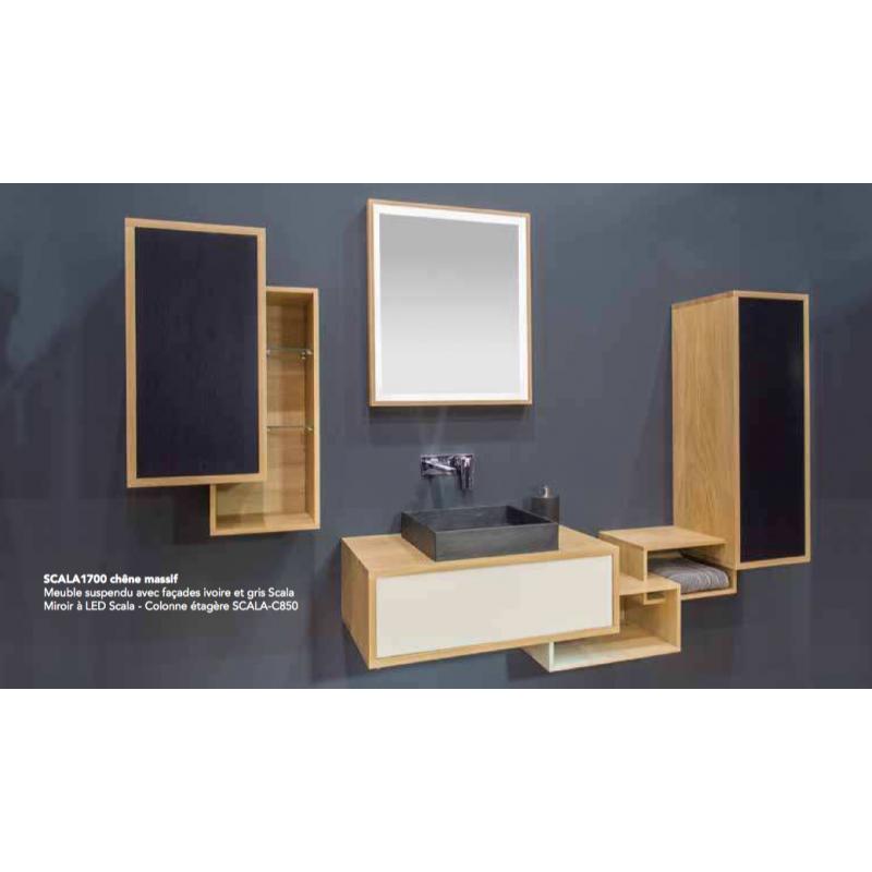 meuble suspendre scala vasque robinet co. Black Bedroom Furniture Sets. Home Design Ideas