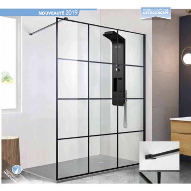 paroi de douche club style atelier vente paroi de douche robinet and co. Black Bedroom Furniture Sets. Home Design Ideas