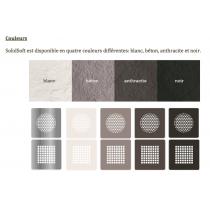Option grille carrée couleur pour receveur souple SOFT