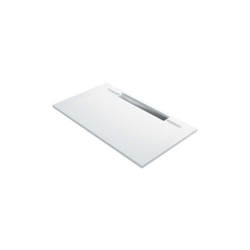 Receveur de douche line y caniveau extraplat hidrobox for Douche avec receveur extra plat
