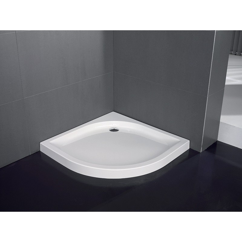 Receveur acrylique angulaire visual hidrobox robinet and for Peinturer un bain en acrylique