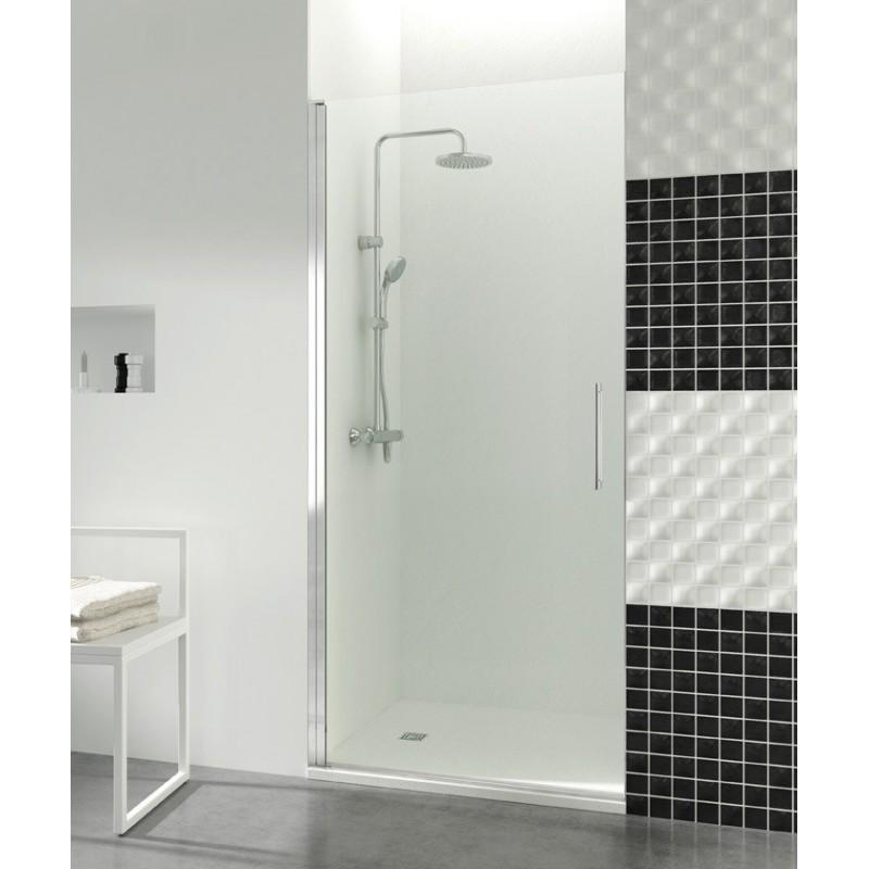 Paroi de douche porte battante helia a robinet and co paroi de douche - Porte battante douche ...