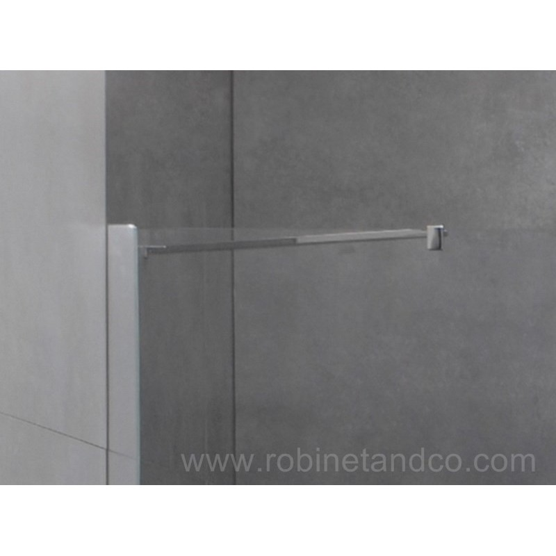 Paroi de douche porte battante helia c robinet and co for Porte battante cuisine