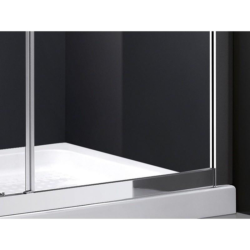 paroi de douche coulissante theia robinet co. Black Bedroom Furniture Sets. Home Design Ideas