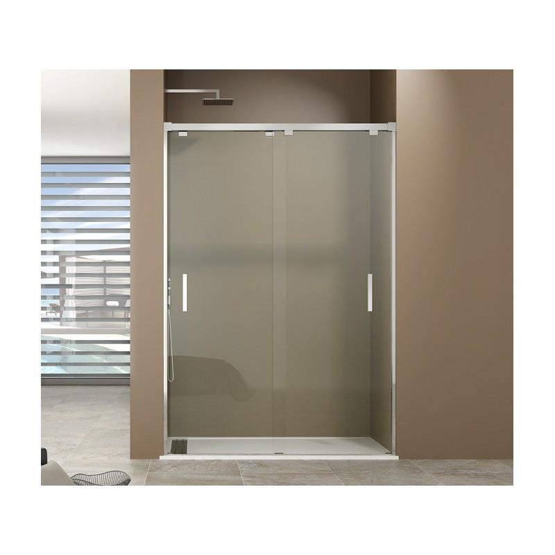 Paroi de douche portes coulissantes dual robinet and co paroi de douche for Portes de douche coulissantes