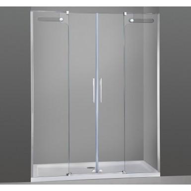 paroi de douche double coulissante phebe spazio robinet and co paroi de douche. Black Bedroom Furniture Sets. Home Design Ideas