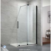 Paroi de douche fixe avec porte coulissante DELISS