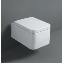 Cuvette WC suspendue design collection FLOW de SIMAS couleur
