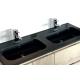 Plan vasque simple ou double en résine