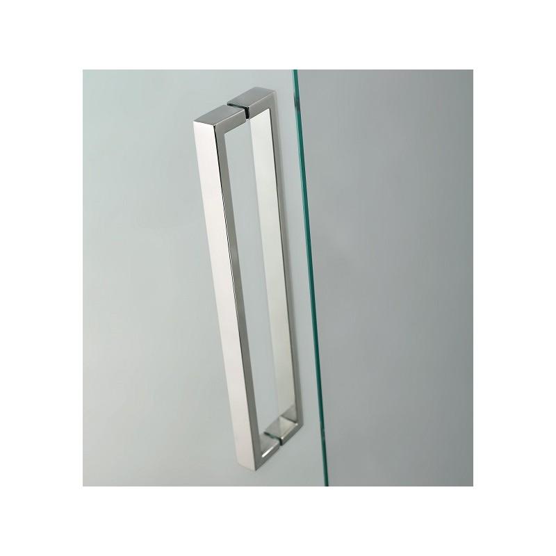 Paroi de douche d 39 angle crios acc s sur angle robinet and co paroi de do - Parois de douche d angle ...