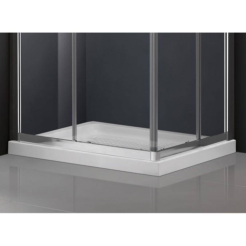 paroi de douche d 39 angle theia acc s sur angle robinet co. Black Bedroom Furniture Sets. Home Design Ideas