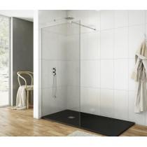 Paroi de douche fixe 110 Screen avec bras support par Robinet and Co
