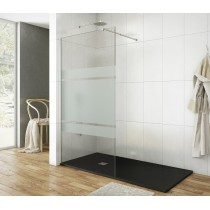 Paroi de douche fixe 90 cm Screen Satin par Robinet and Co