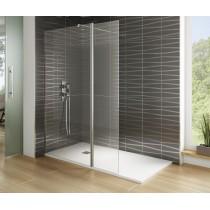 Ecran de douche fixe Screen avec verre mobile par Robinet and Co