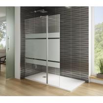 Paroi de douche en verre fixe Screen Satin par Robinet and Co