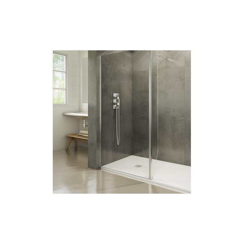 paroi fixe screen avec retour fixe 20 cm robinet and co paroi de douche. Black Bedroom Furniture Sets. Home Design Ideas