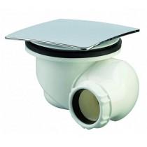 Bonde de douche 90 mm multi orientable - capot carré