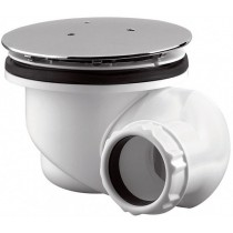 Bonde de douche 90 mm multi orientable - capot rond