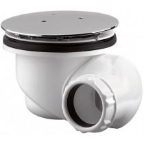 Bonde de douche 90 mm multi orientable - capot rond