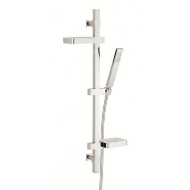 barre de douche touareg valentin avec tablettes robinet and co accessoires douche. Black Bedroom Furniture Sets. Home Design Ideas