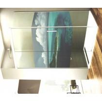 Option impression de vos photos sur vinyl pour paroi de douche d'angle - pose en usine
