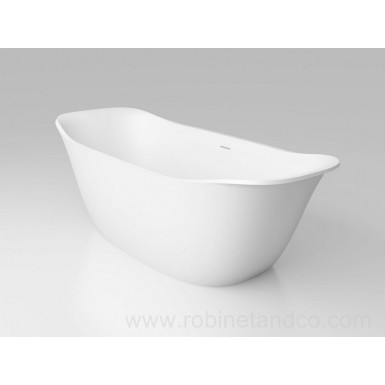 Baignoire ilot 170 x 74 Solid Surface BETA ESSENTIAL V3