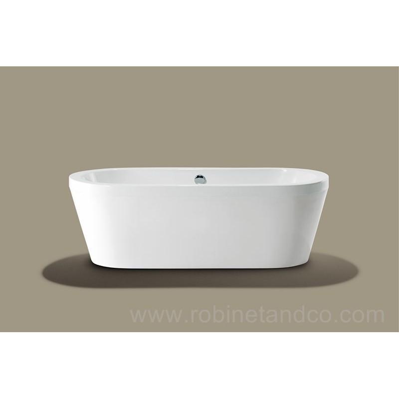 Baignoire ilot cool 180 x 80 robinet and co baignoire for Baignoire ilot 160 x 80