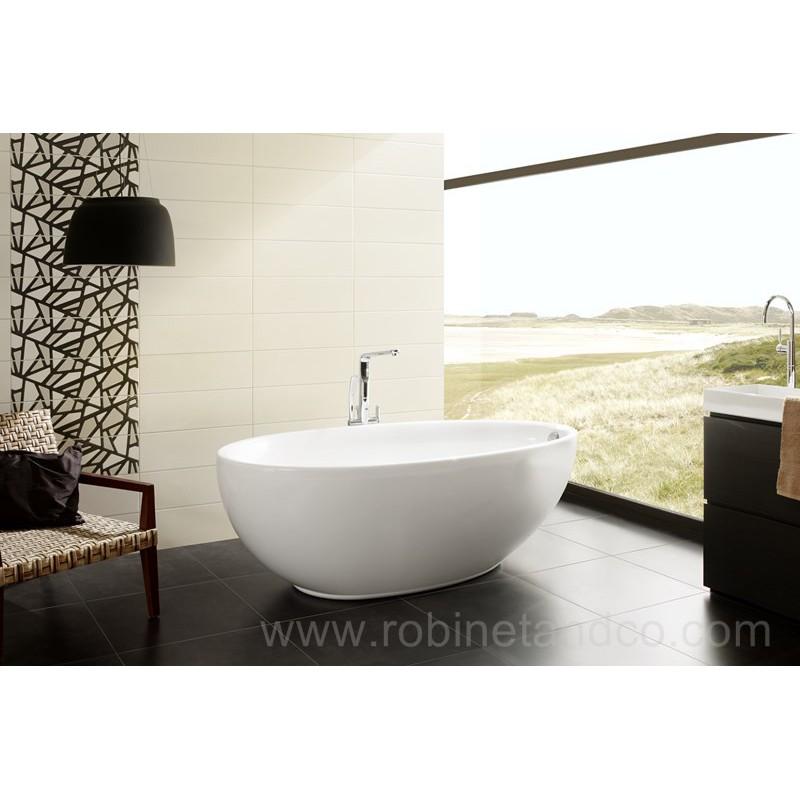 baignoire ilot lounge 185 x 95 robinet and co baignoire. Black Bedroom Furniture Sets. Home Design Ideas