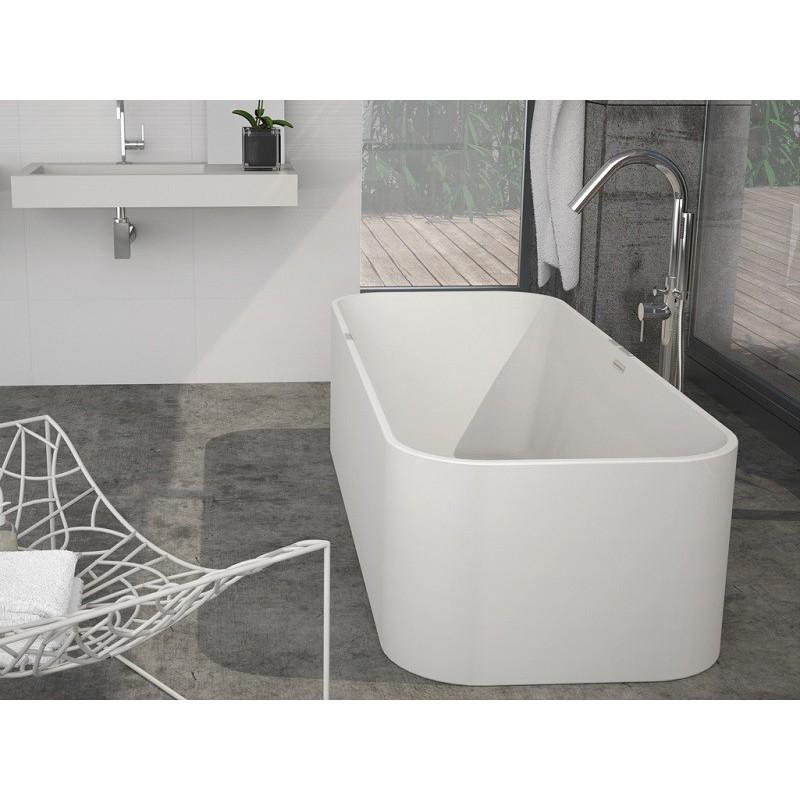 evacuation baignoire ilot interesting baignoire lot lx l cm blanc mat carmel leroy merlin with. Black Bedroom Furniture Sets. Home Design Ideas
