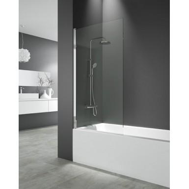 paroi de baignoire 85 x 150 cm cronos i verre 6 mm robinet and co paroi de bain. Black Bedroom Furniture Sets. Home Design Ideas