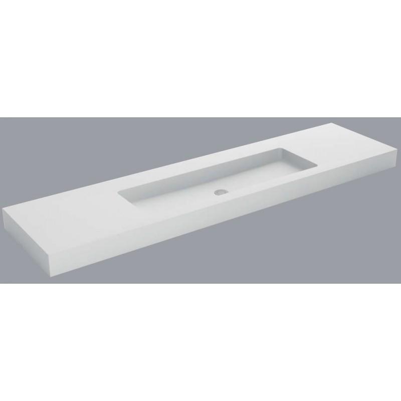 plan vasque mural blanc mat soho solid surface vasque xl robinet and co plan vasque. Black Bedroom Furniture Sets. Home Design Ideas