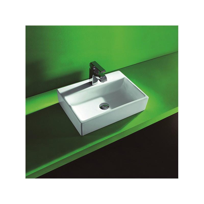 vasque poser en porcelaine maill e oural robinet and co vasque et lavabos. Black Bedroom Furniture Sets. Home Design Ideas