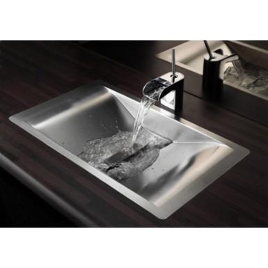 Lavabo Design Inox à Encastrer Wave Reginox Vente Vasque Et