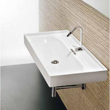 vasque suspendre en porcelaine emaill e piano l12 robinet and co plan vasque. Black Bedroom Furniture Sets. Home Design Ideas
