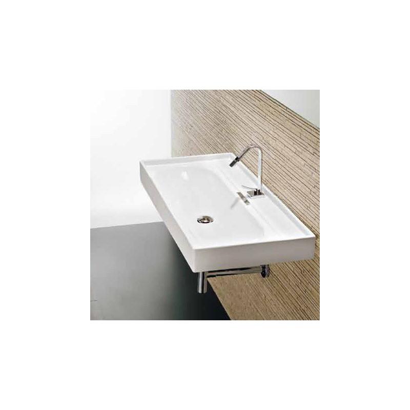 vasque 224 suspendre en porcelaine emaill 233 e piano l12 robinet and co plan vasque