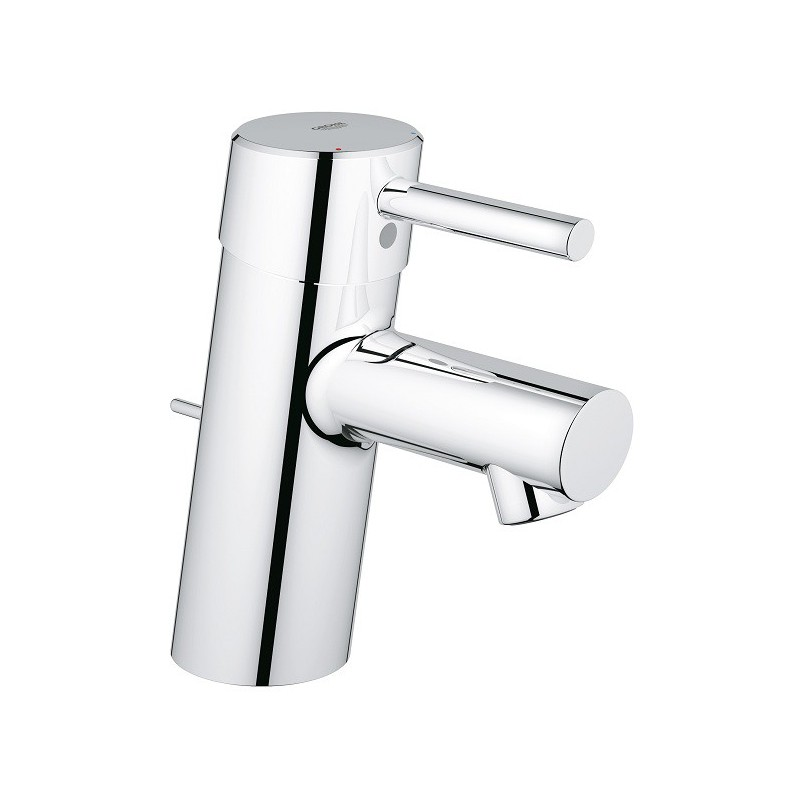 Mitigeur lavabo grohe concetto chrom robinet and co for Vasque grohe