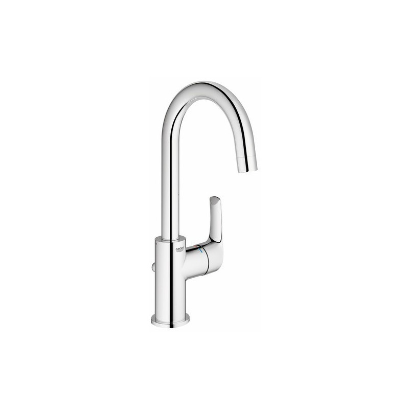 Mitigeur lavabo grohe bec haut eurosmart robinet and co for Vasque grohe