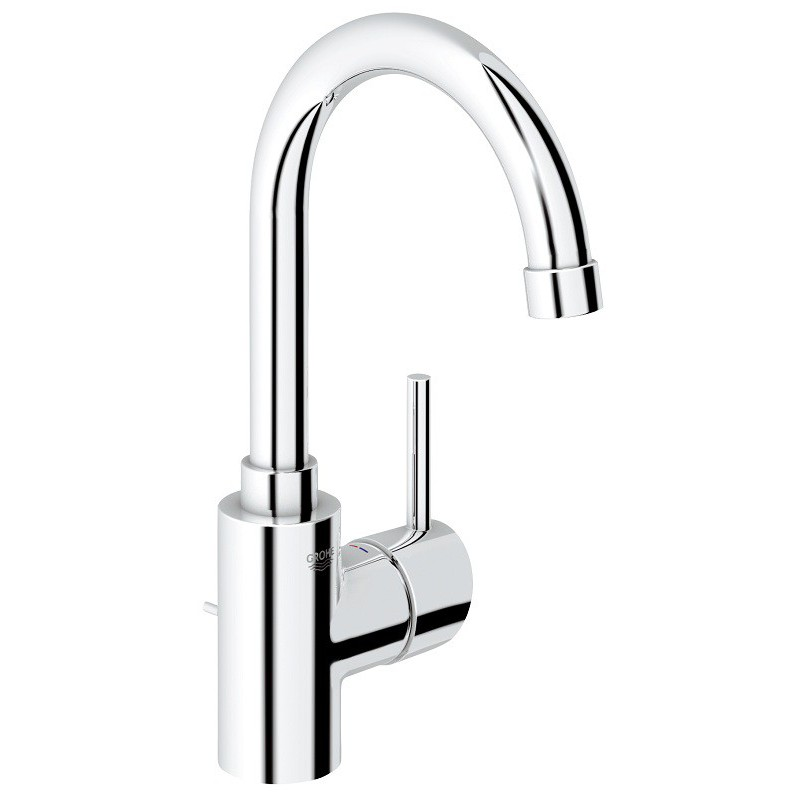 mitigeur vasque grohe concetto chrom robinet and co
