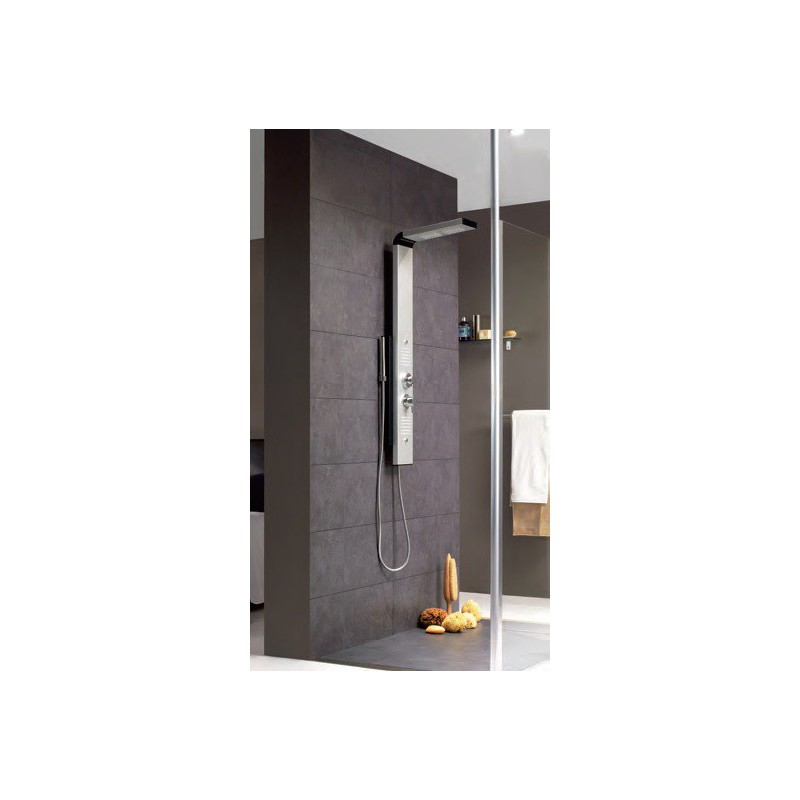 colonne de douche multifonction dune de valentin robinet and co robinetterie douche. Black Bedroom Furniture Sets. Home Design Ideas