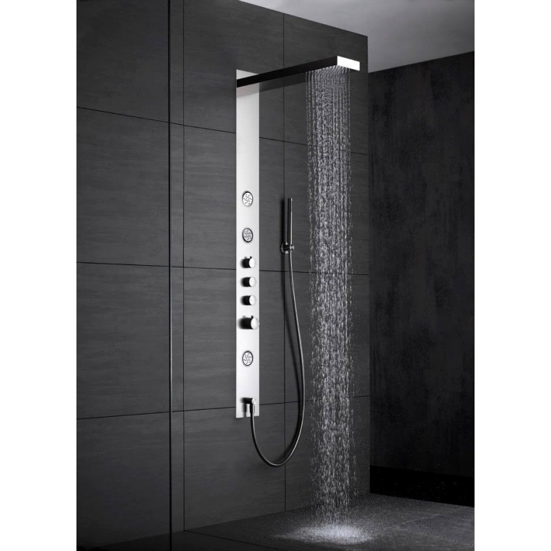 colonne de douche tout inox wallpaper ib robinetterie robinet and co robinetterie douche. Black Bedroom Furniture Sets. Home Design Ideas