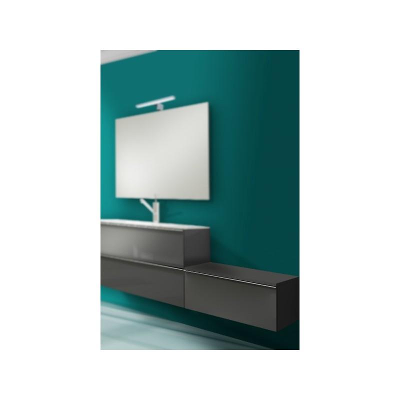 Meuble bas suspendu phi avec plan de toilette 1 tiroir - Meuble bas avec tiroir ...