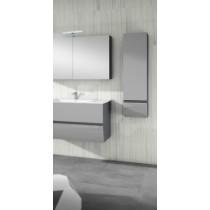 Armoire de salle de bain collection CHARLESTON 1 porte et 1 tiroir