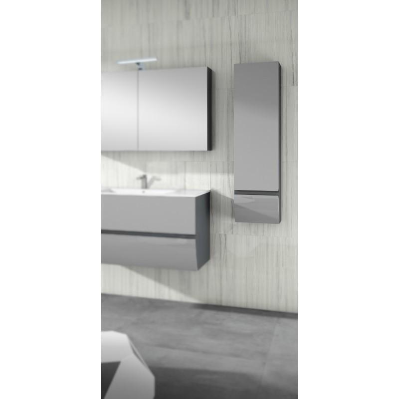 armoire de salle de bain collection charleston 1 porte et 1 tiroir robinet and co meuble suspendu. Black Bedroom Furniture Sets. Home Design Ideas