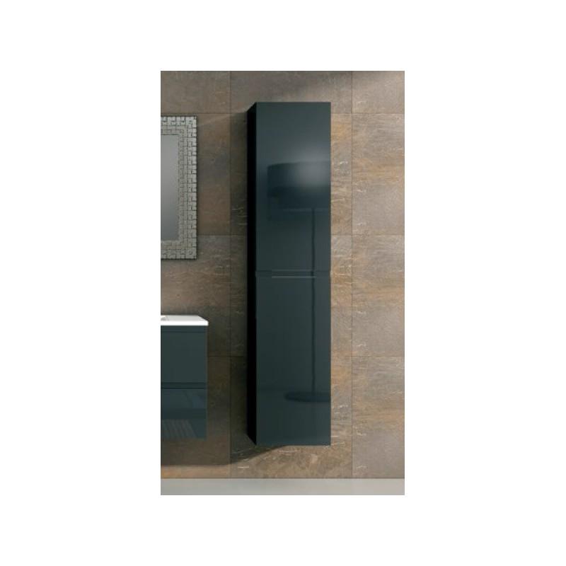 Colonne suspendue alfa 2 portes robinet and co meuble suspendu - Colonne salle de bain suspendu ...