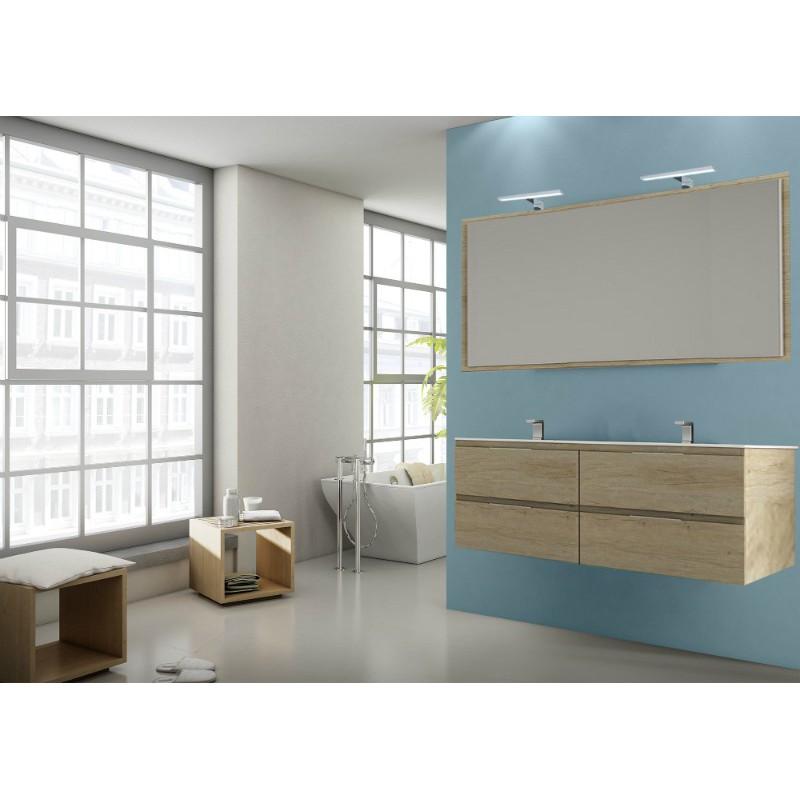 meuble pour double vasque kuta suspendre 4 tiroirs. Black Bedroom Furniture Sets. Home Design Ideas