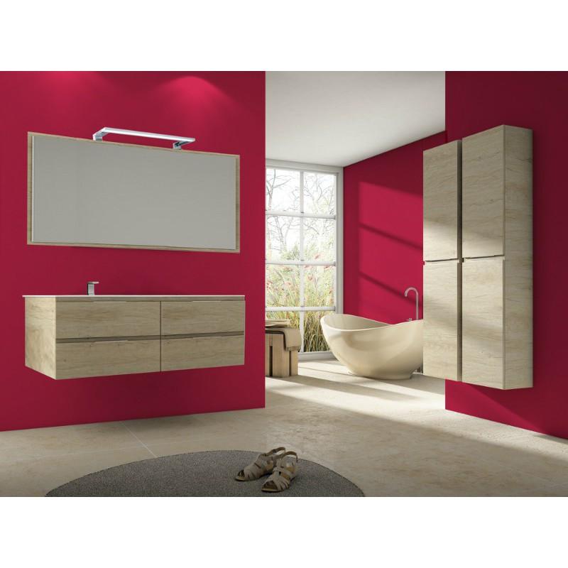 meuble pour vasque d centr e kuta suspendre 4 tiroirs. Black Bedroom Furniture Sets. Home Design Ideas