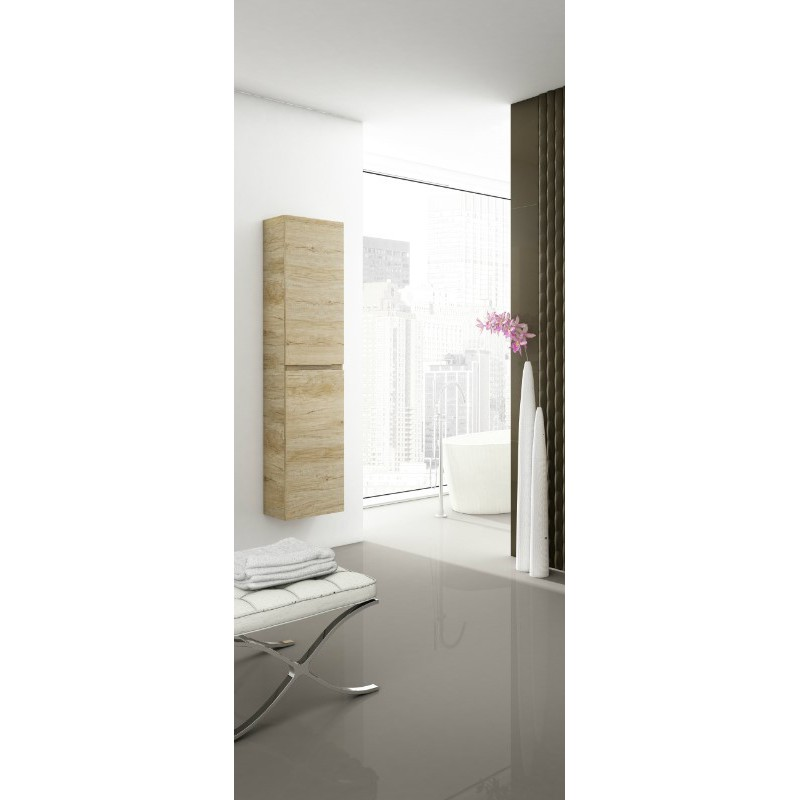 colonne de salle de bain suspendue delta 2 portes robinet. Black Bedroom Furniture Sets. Home Design Ideas