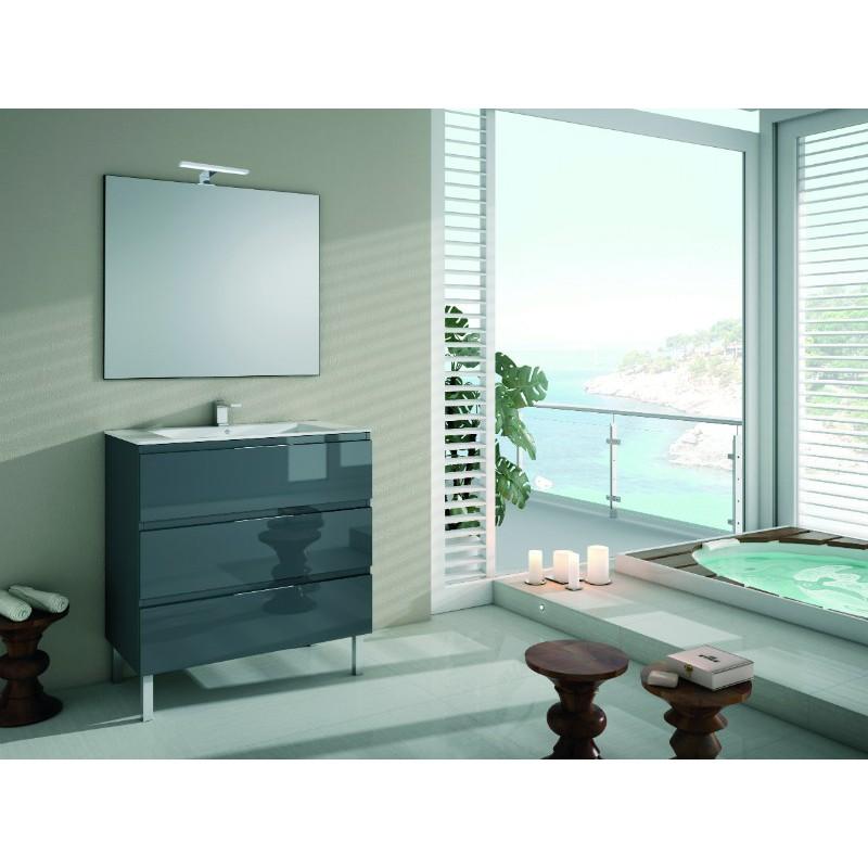 meuble sous vasque sydney sur pieds 3 tiroirs robinet and co meuble sur pieds. Black Bedroom Furniture Sets. Home Design Ideas